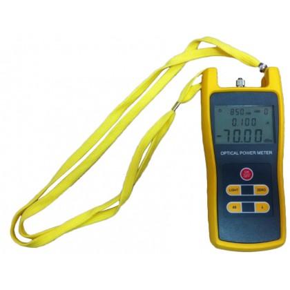 Światłowodowy miernik mocy optycznej o zakresie pomiarowym -70 do + 3 dBm NI035 ALANTEC
